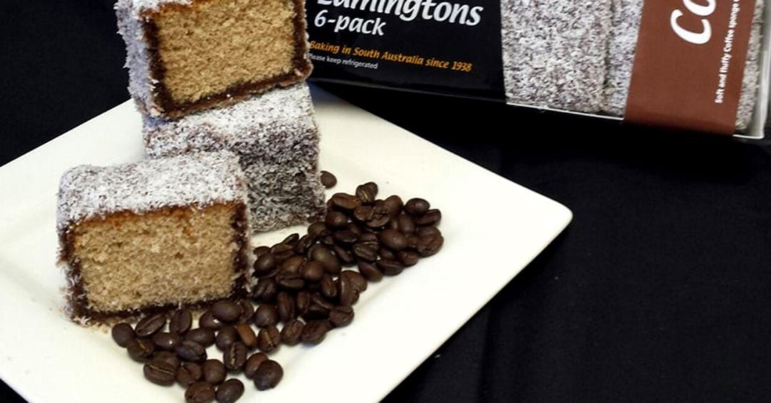 The story of the coffee lamington from Kytons Bakery