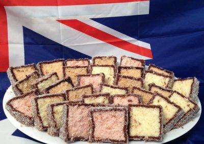 Australia Day Lamington