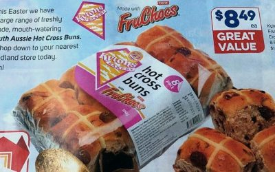Award for Kytons Menz FruChocs Hot Cross Buns