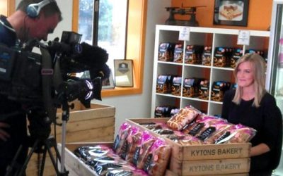 Channel 10 News live from Kytons Bakery today