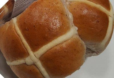 Fruitless Hot Cross Buns - 12 Snack Size