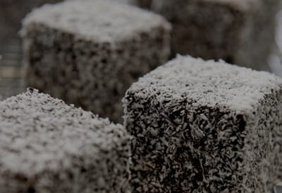 Traditional Lamingtons - Tray of 30