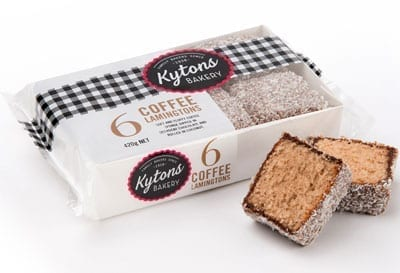 Coffee Lamingtons - 6 Pack