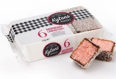 Raspberry Lamingtons - 6 Pack