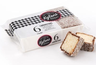 Traditional Lamingtons - 6 Pack