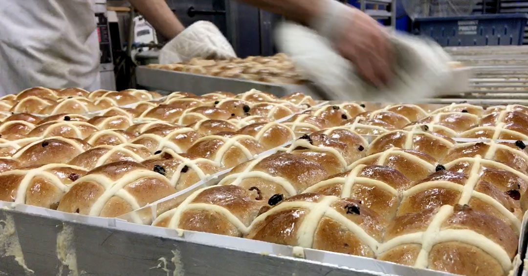 Kytons Hot Cross Buns homemade?
